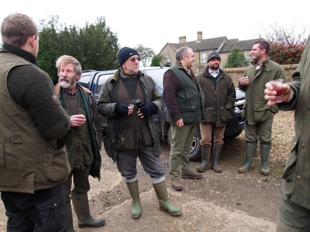 Lokale englændere klar til jagt